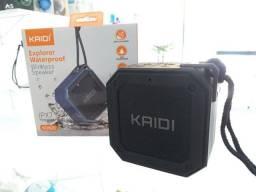 Caixa de Som Bluetooth KD820 Kaidi a Prova d'água IPX7