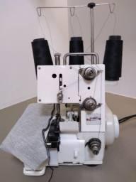 Máquina overclock doméstica 3 fios / 1 agulha