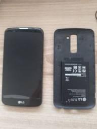 Smartphone LG K10 não liga