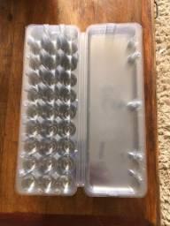 Embalagens de ovos de codorna