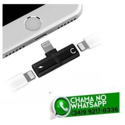 Adaptador para Carregador + Fone de Ouvido Iphone - Fazemos Entregas