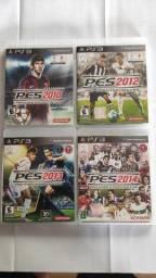 Pes 2010,2012,2013 E 2014 - Ps3 - Pro Evolution Soccer