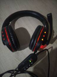 Headset Gamer semi-novo