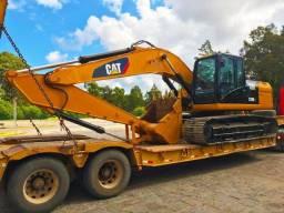 Título do anúncio: Escavadeira Caterpillar 320D2L Esteira Larga (800mm)