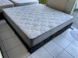 cama box king size - 2.03 x 1.93 - entrego