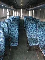 bancos de micro-ônibus