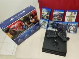 Título do anúncio: Vendo PS4 completo