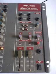 Mesa de Som Unic Mac-08 Balanceados