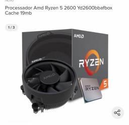 Processador Ryzen 5 2600.