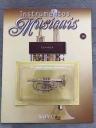 Título do anúncio: Instrumento da Salvat nº 16 Corneta em Miniatura