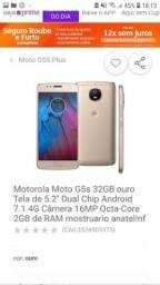 Moto G5S Ouro (NOVO)