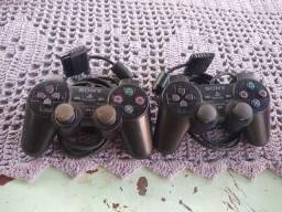 2 controle PS2 original