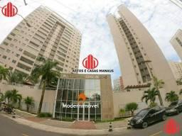 Apartamento alto padrão na Ponta Negra - possui atelier, massagem, playground, etc