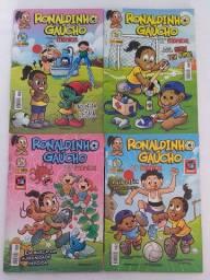 Gibi Ronaldinho Gaúcho kit 4 unds
