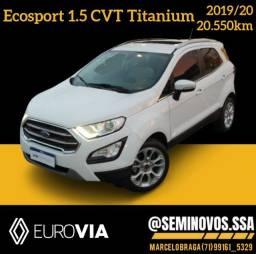 Título do anúncio: Ecosport 1.5 titanium 2019/20 - Marcelo Braga