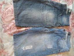 Título do anúncio: Bermuda jeans