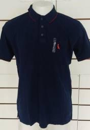Camisa Gola Polo Azul Reserva Ultima Saldão dia dos Namorados tamanho  GG Nova