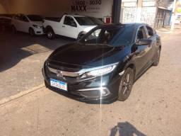 Honda Civic touring turbo 2020 completo + teto solar