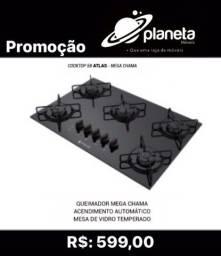 COOKTOP ATLAS MEGA CHAMA // BIJOUTERIAS