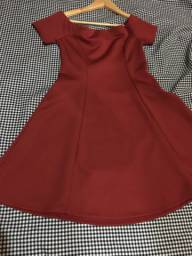 Vestido tomara que caia forever21 vermelho
