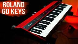 Título do anúncio: Teclado Piano Roland Go keys, Pianos incríveis e funções inigualáveis, pronta entrega.