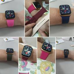 Pulseira silicone para smartwatch 44mm