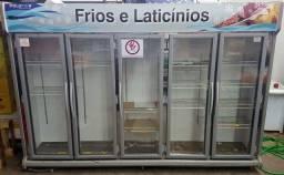 Título do anúncio: Expositor Refrigerado 5 portas - 220v - PoloFrio