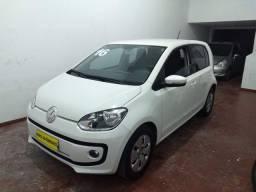 VWV UP 1.0 MOVE  COMPLETO 4 PORTAS ANO 2016 COR BRANCO R$ 33.900,00