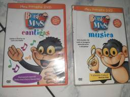 """2 dvd's bebê mais """"Cantigas e músicas """""""
