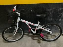 Bicicleta ceci com cestinha aro 20