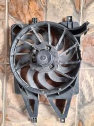 Ventoinha eletroventilador fiat palio siena idea strada fire denso behr com ar