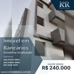 Título do anúncio: Apartamento com 3 dormitórios à venda, 73 m² por R$ 240.000,00 - Bancários - João Pessoa/P