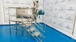 Misturador Horizontal de Pós Ribbon BLender 500 litros/kg Industrial