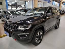 Jeep Compass Trailhawk 2.0 Diesel Preto 2017 (Automático + Couro + 4x4)