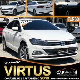 Título do anúncio: Volkswagen Virtus Confortline 1.0 Turbo 2019 Automático