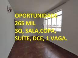 Título do anúncio: 3 QUARTOS PRÓXIMO A UNI-BH. colégio batista, lagoinha, rua ponte nova, mediar imóveis.