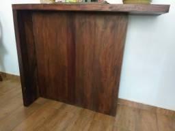 Aparador com bancos madeira maciça