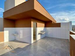 Título do anúncio: Cobertura com 2 quartos à venda, 85 m² por R$ 309.000 - Piratininga (Venda Nova) - Belo Ho