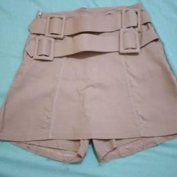 Título do anúncio: Short saia com cinto
