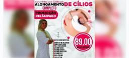 CURSO ONLINE + CERTIFICADO ALONGAMENTO DE CILIOS COMPLETO
