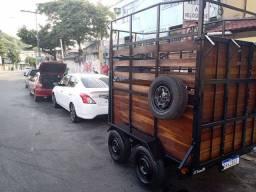 Carretinha,  carroça , charrete  2 animais