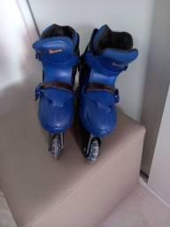Título do anúncio:  Vendo patins,  em bom estado de conservação
