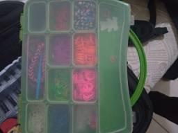 Caixa de elásticos para confeccionar pulseiras