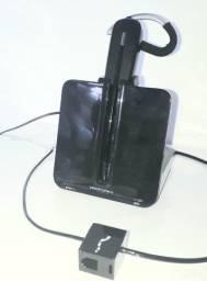 Headset Sem Fio Wireless C054 Plantronics - Usado Otimo Estado