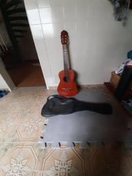 Vendo violão acústico  Gianini série Estudo com capa, NÃO  faço  entrega