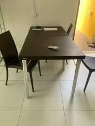 Vendo cadeiras e mesas Tramontina! Compradas, mas sem uso.
