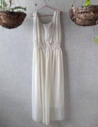 Título do anúncio: Vestido de noiva tam 46
