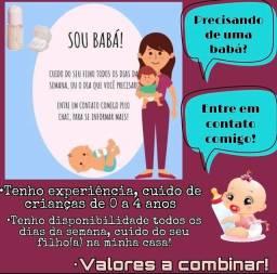 Título do anúncio: Ofereço meu serviço de babá