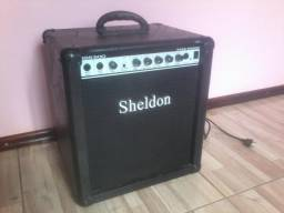 Cubo Amplificador Para Contra Baixo Sheldon Bss 500 50w