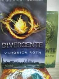 Série de livros Divergente (Divergente, Insurgente, Convergente - Veronica Roth)